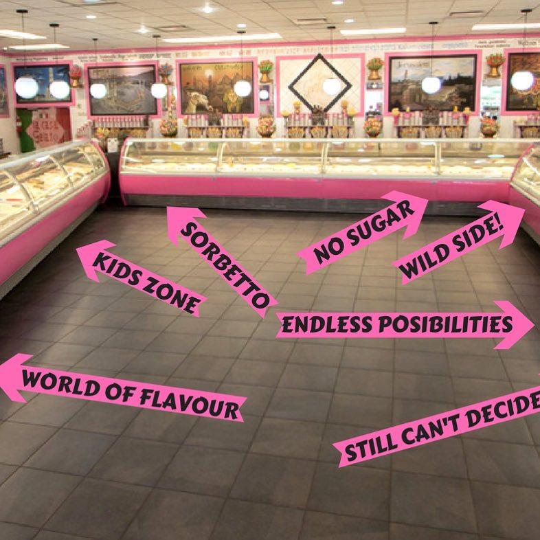 Največ sladolednih okusov