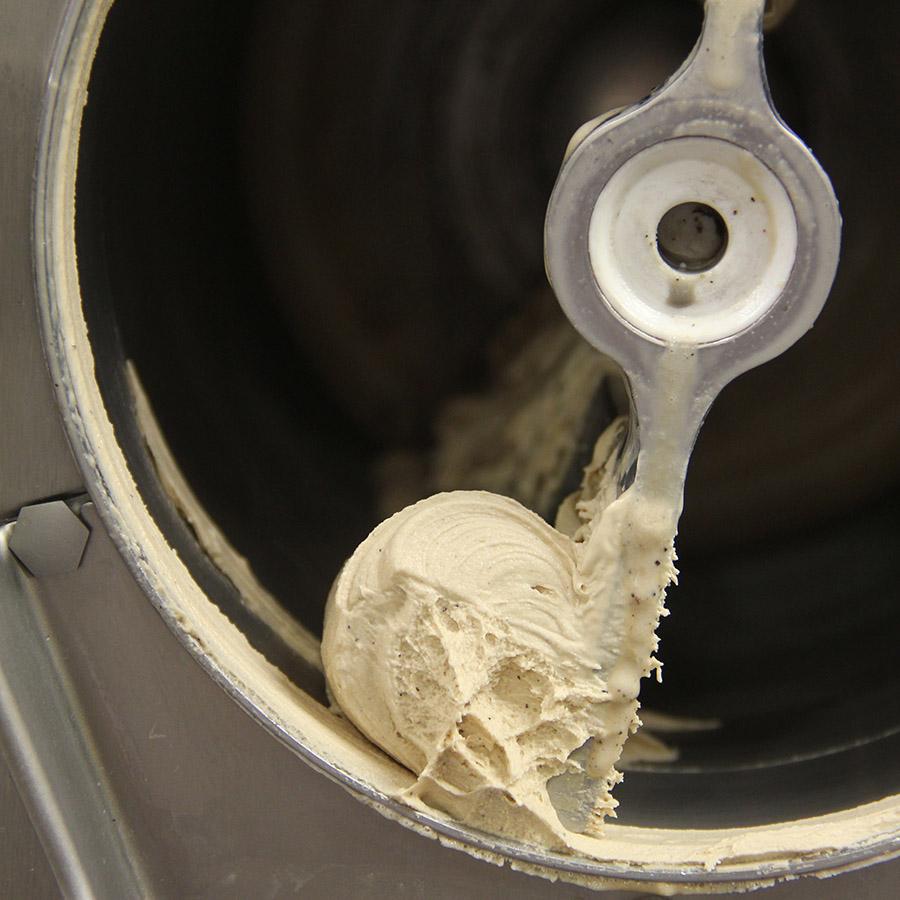 praznjenje sladolednega stroja