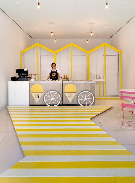 Organizacija dela in zaposleni v sladoledarni.