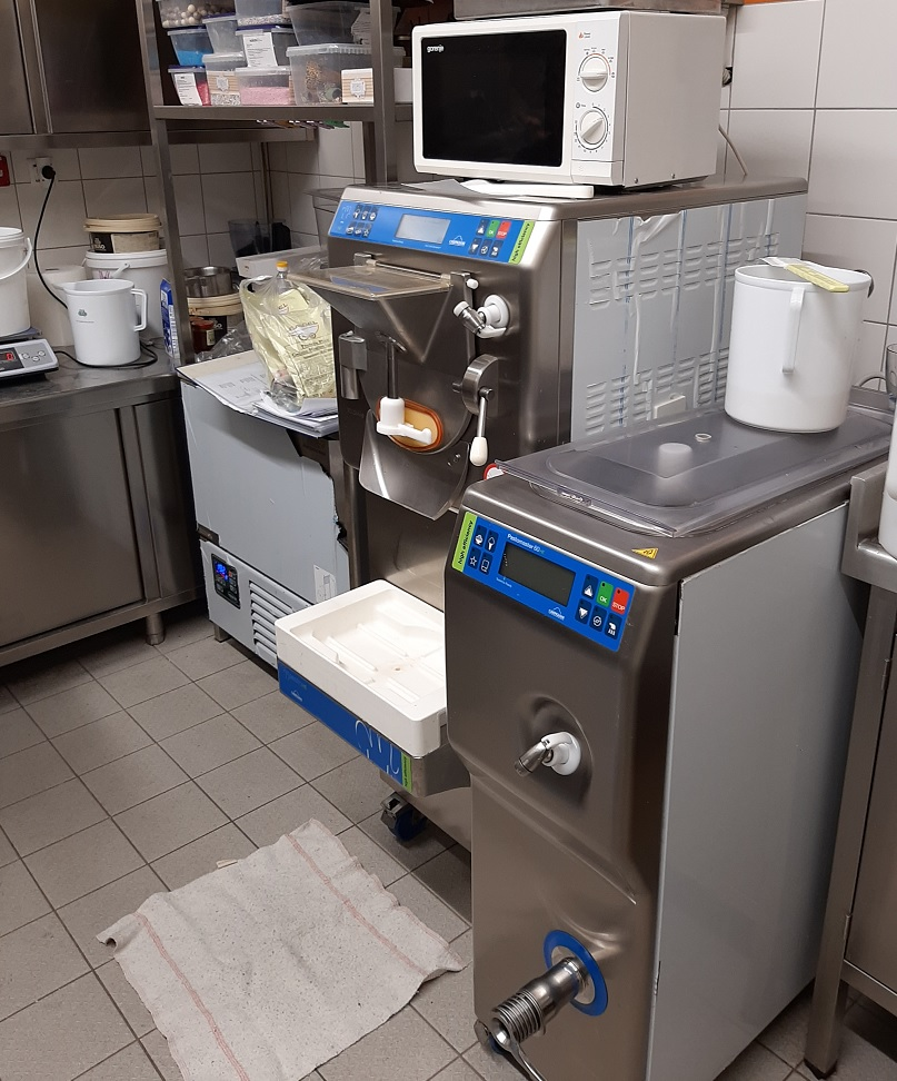 Oprema sladoledne delavnice
