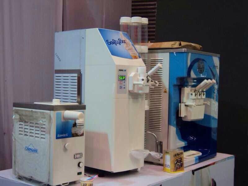 Carpigiani ponuja številne različice strojev za soft sladoled.