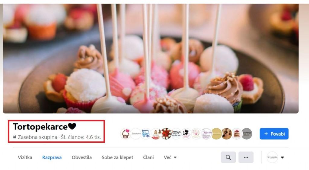 Tortopekarce so ena izmed najbolj aktivnih skupin na Facebook-u.