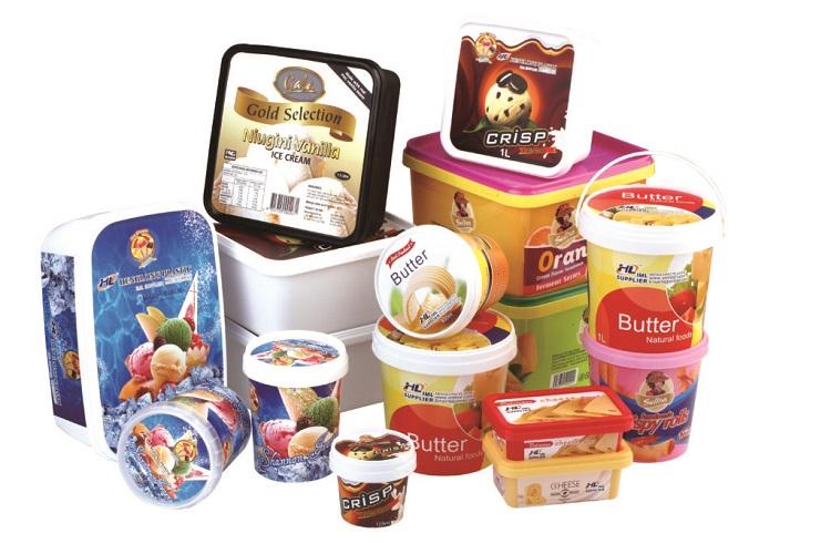 Različna pakiranja živil so si med seboj zelo podobna